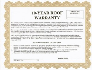 Warranties Can Help Reduce Your Roofing Insurance Claims