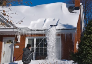 The importance of roofing insurance for snow removal and collapsing roof